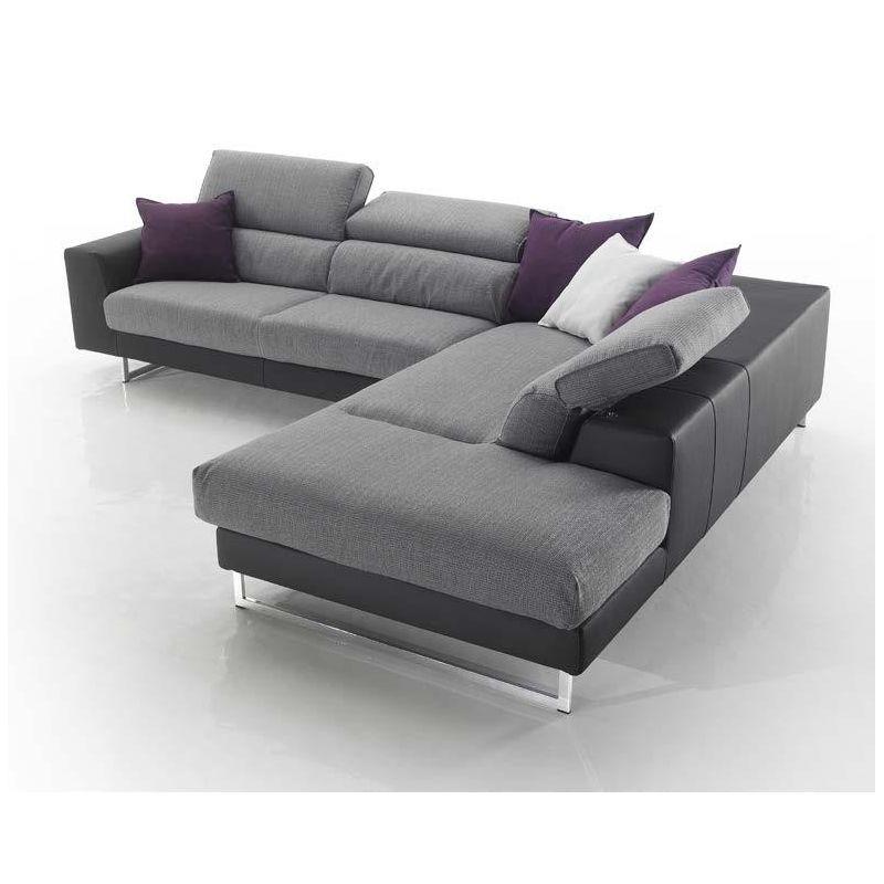 DANY divano fisso o componibile con poggiatesta regolabile Scegli o componi  il tuo divano divano 2 posti